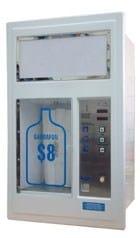 Fiberglass Wall Mounted Vending Machine