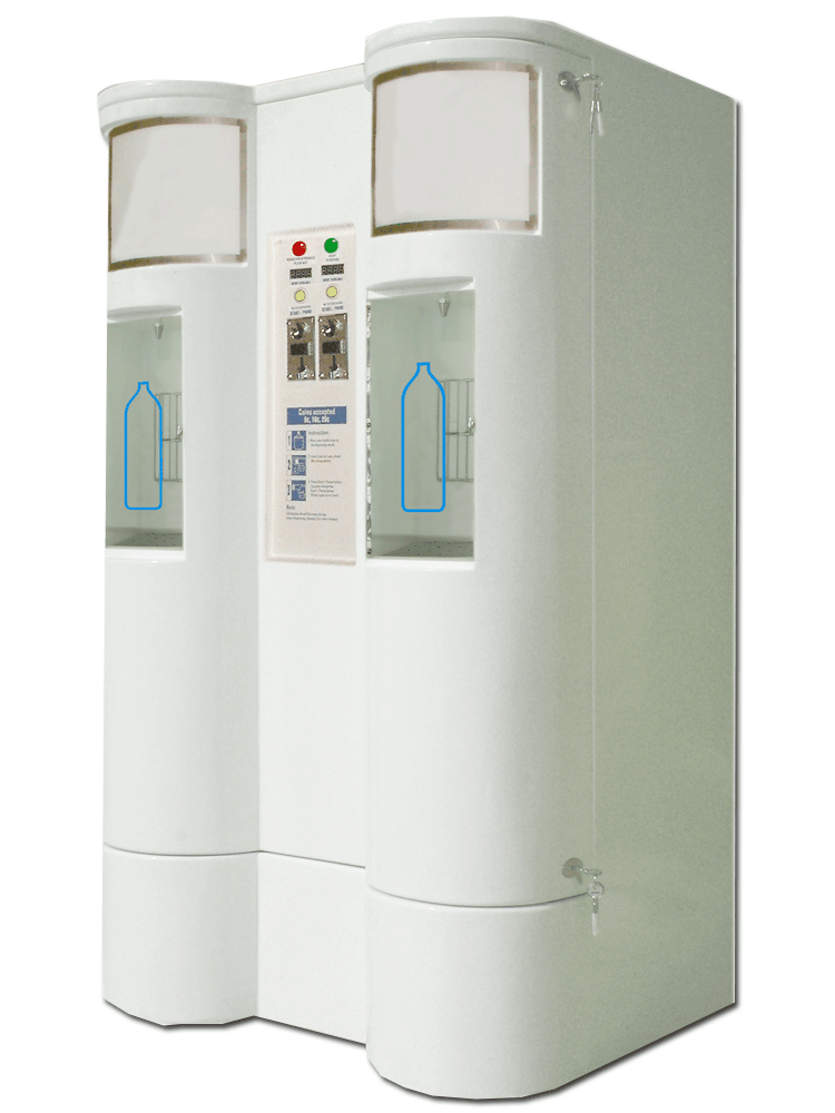 Small Bottle Dual Water Vending