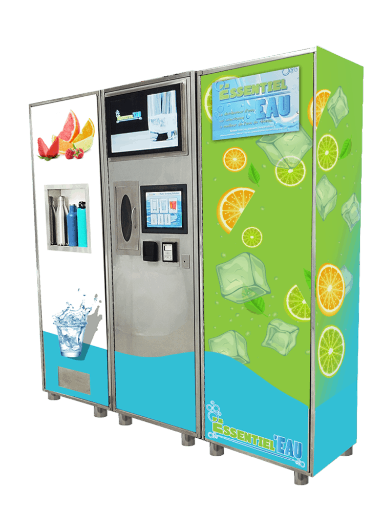 Multi Function Water Vending Machine