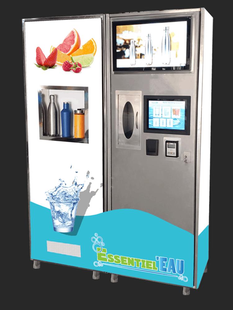 Smart Stainless Steel Water, Vending Machine, Water Vending, Water Vending Machine, Water Vending Machine RO