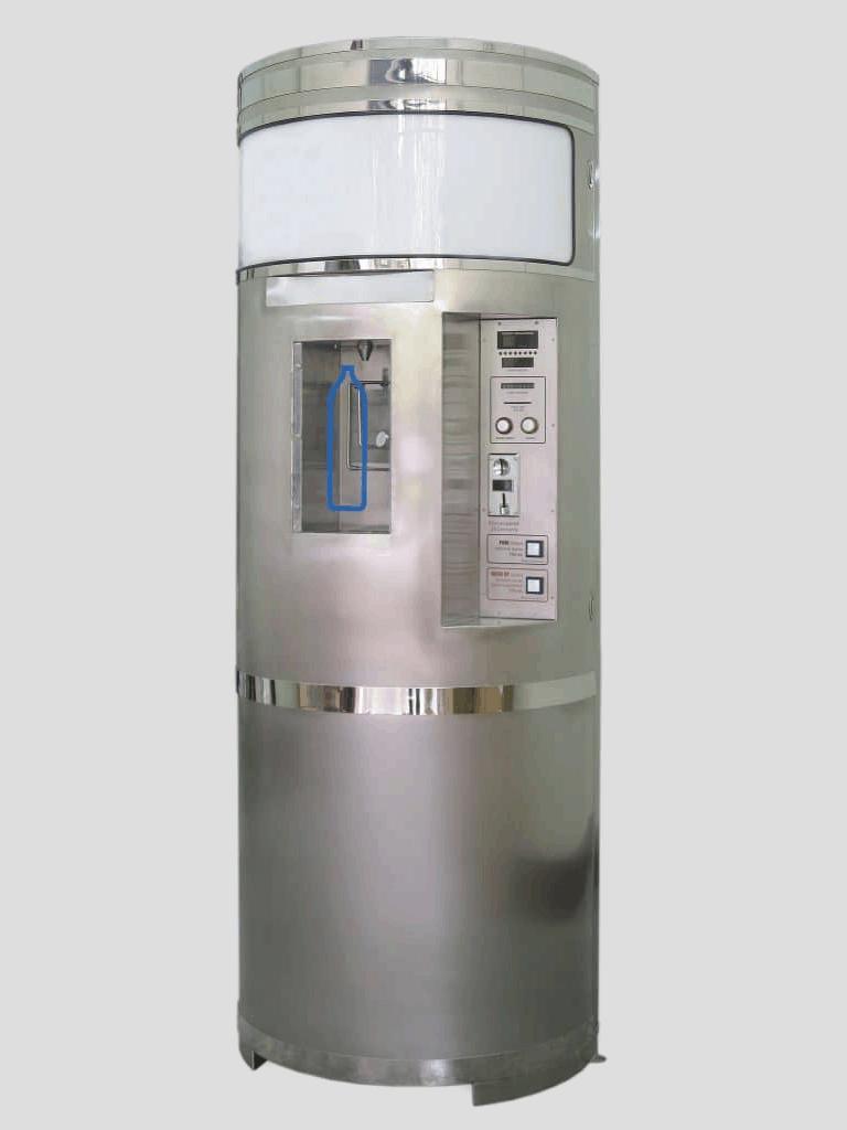 Stainless Steel Water Vending Machine MODEL: OSS-2200, OSS-9450