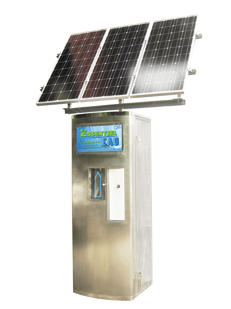 Solar Systems Water Vending Machine